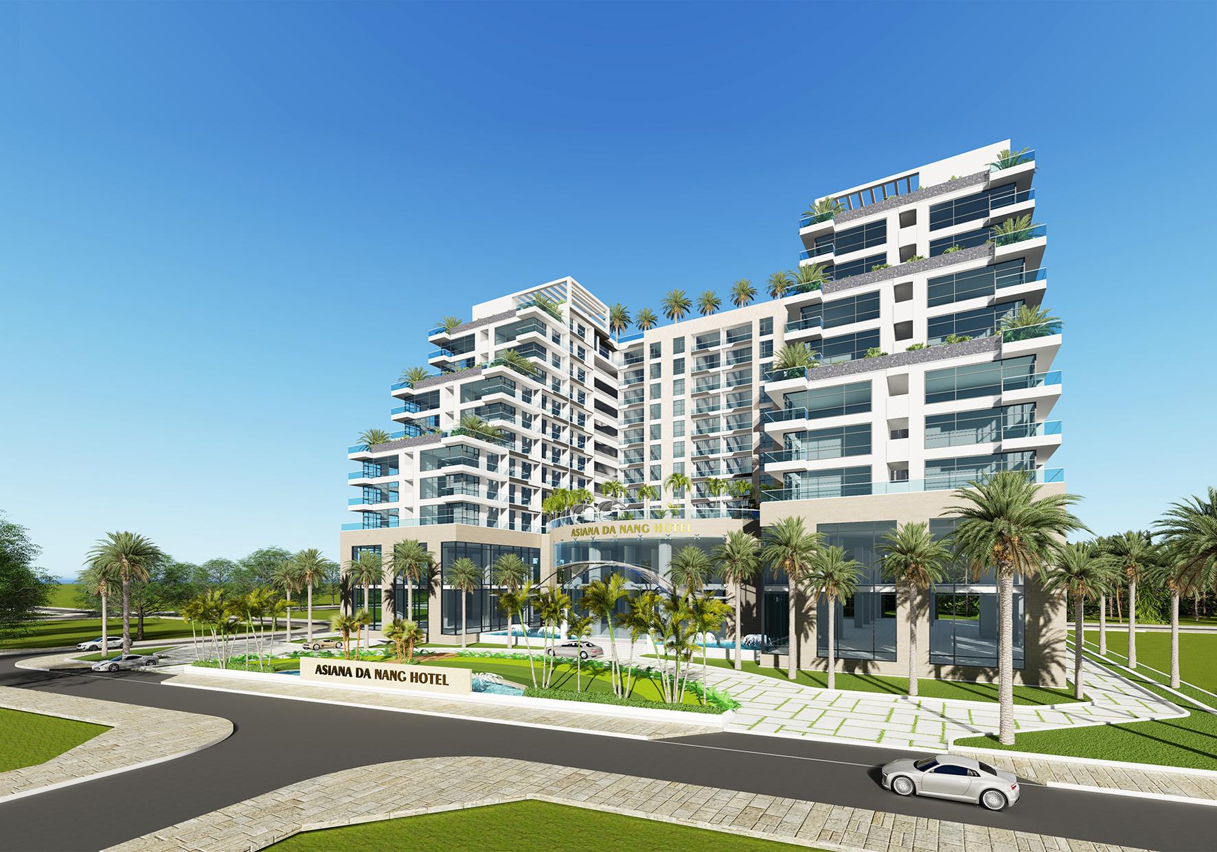 Asiana Complex Hotel – view01