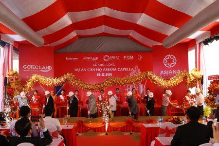 Gotec Land chính thức khởi công dự án căn hộ Asiana Capella