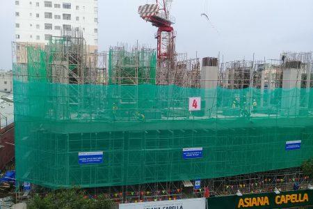 Cận cảnh tiến độ xây dựng dự án Asiana Capella