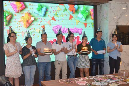 Gotec Land tổ chức tiệc sinh nhật cho cán bộ nhân viên tháng 6