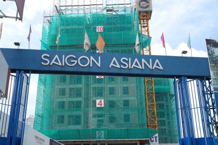 Cận cảnh tiến độ thần tốc tại Saigon Asiana tháng 10/2020