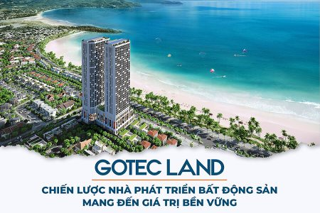 Gotec Land – Đề ra chiến lược nhà phát triển bất động sản mang đến giá trị bền vững