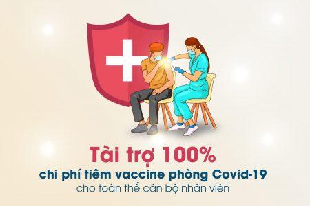Gotec Land tài trợ tiêm vaccine phòng Covid-19 cho toàn thể cán bộ nhân viên